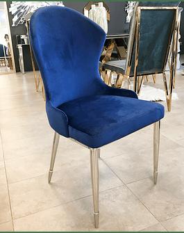 Silla Martina Velvet Azul