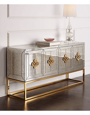 Buffet Delphine Gold medida estándar