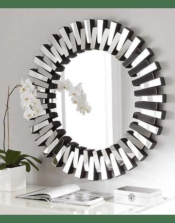 Espejo de muro rayos de sol