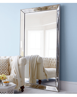 Espejo de pie marco bisel