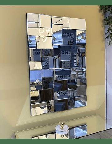 Espejo de muro mosaico