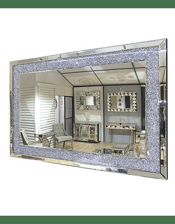 Espejo de muro brillos