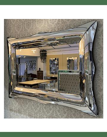 Espejo de muro marco bombé diseño