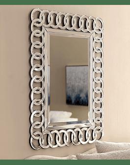 Espejo de muro anillos