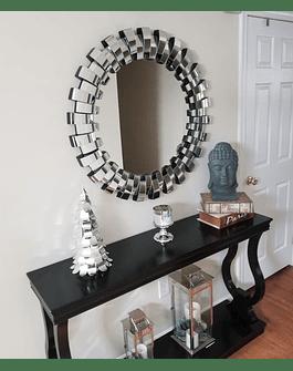 Espejo circular muro