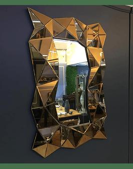 Espejo de muro cobre