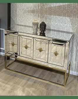 Buffet Delphine Gold medida especial
