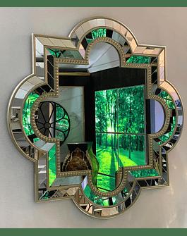 Espejo de muro Ferrara