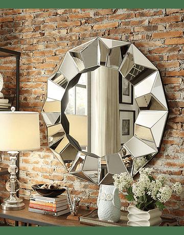 Espejo de muro Río