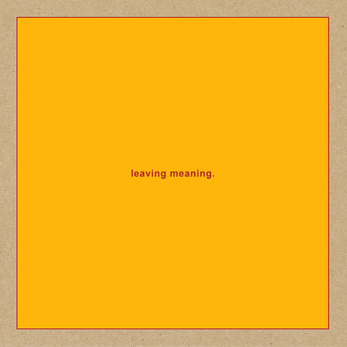 leaving meaning.