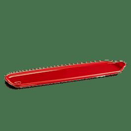 Bandeja Aperitivo large 42cm color rojo