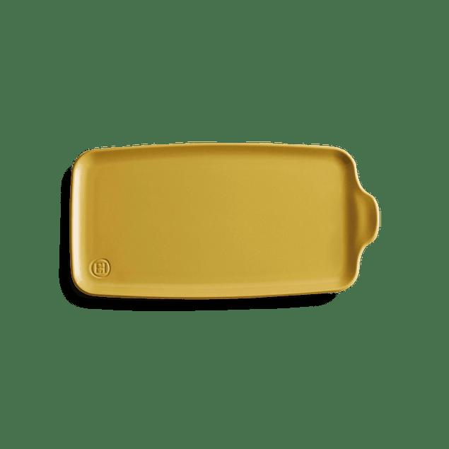 Bandeja Aperitivo grande 16x31,5cm color amarillo