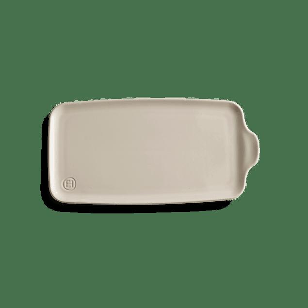 Bandeja Aperitivo grande 16x31,5cm color crema