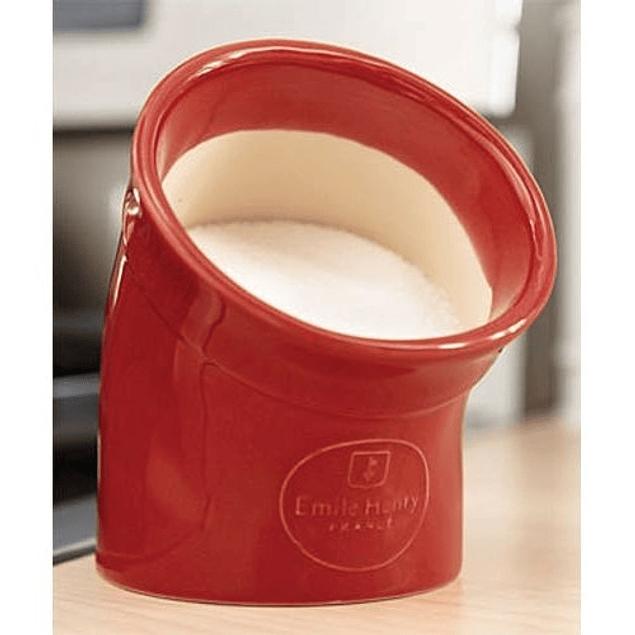 Codo de sal color rojo