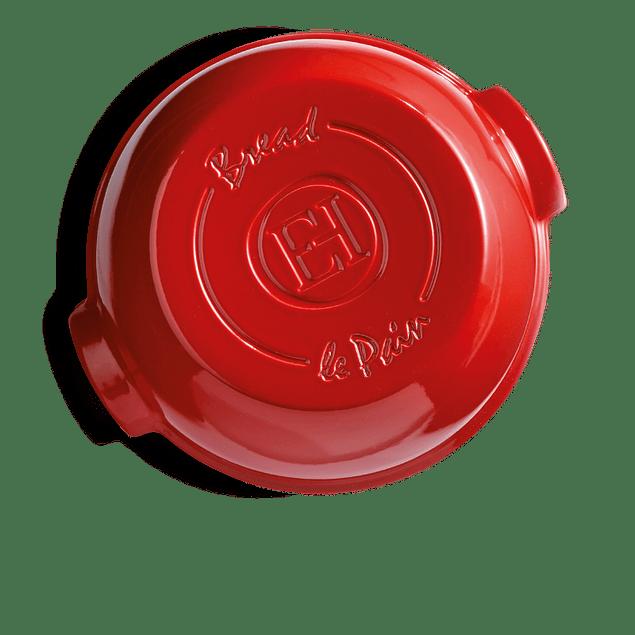 Molde Pan Campesino 33 x 30 x 14 cm rojo