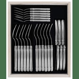 Set de 24 cubiertos Laguiole by Andre Verdier Inox
