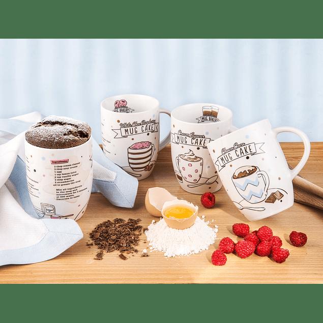 Set 4 mugs de Panadería