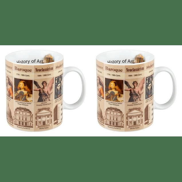 Set 2 Mugs Profesiones HISTORIA DEL ARTE