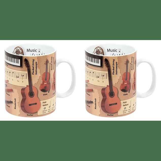 Set 2 Mugs Profesiones MUSICA
