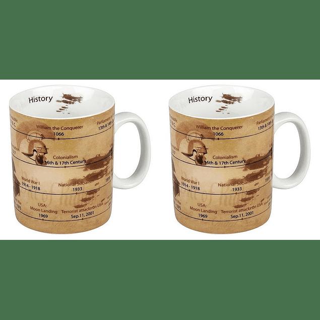 Set 2 Mugs Profesiones HISTORIA