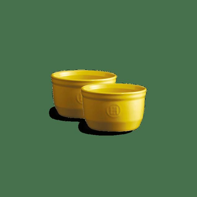 Set 2 Ramekins 10cm Amarillos