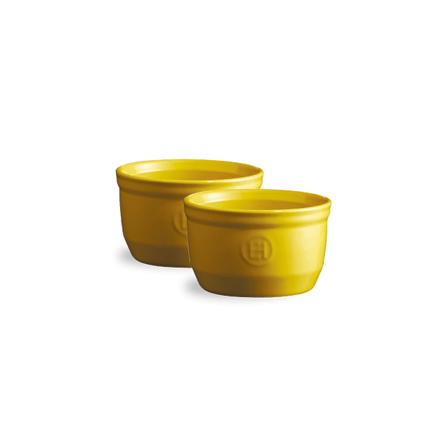 Set 2 Ramekins 9cm Amarillos