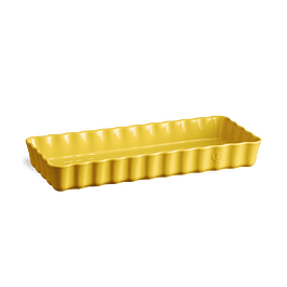 Molde Tarta Rectangular Amarillo 36,5 x 15