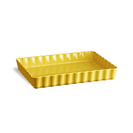 Molde Tarta Rectangular Amarillo 33,5 x 24