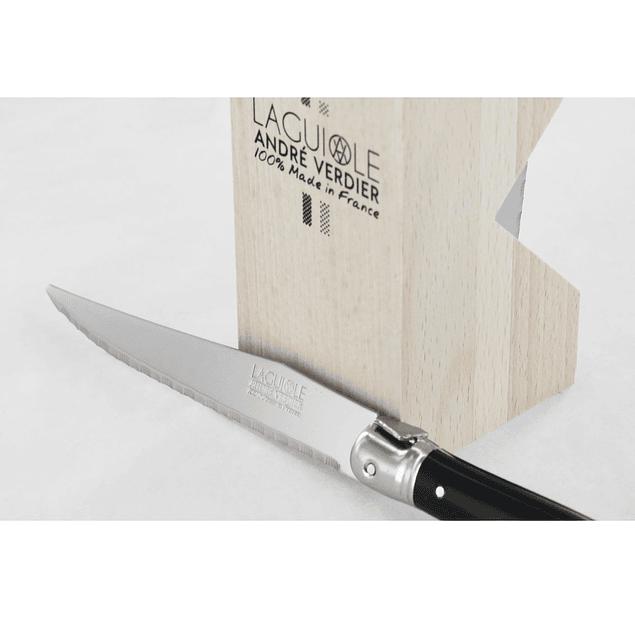 Set Cuchillos Steck 6 piezas color negro