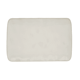 PLATO RECTANGULAR 27x19 WHITE