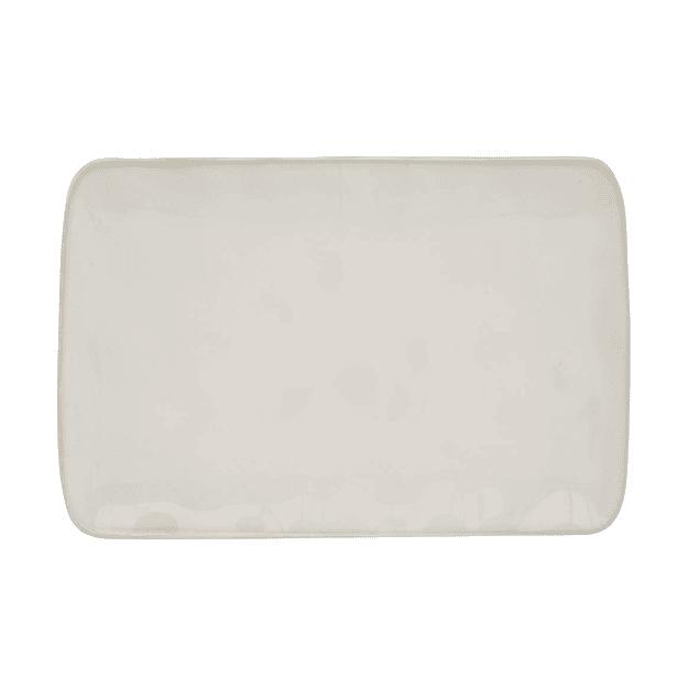 PLATO RECTANGULAR 27x19 WHITE