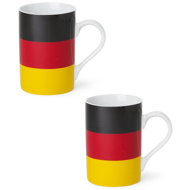Set 2 mugs Bandera de Alemania