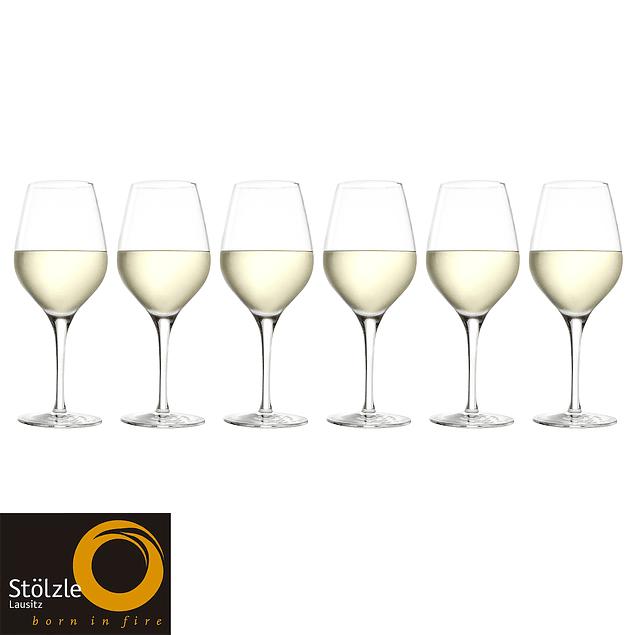 Set de 6 Copas Exquisit Vino Blanco 350ml