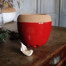 Envase para ajos Rojo