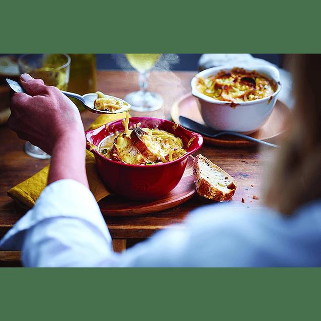Set 4 bowls para gratinar Color Amarillo