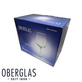 Set de 6 copas de Vino Blanco 391ml en caja de regalo