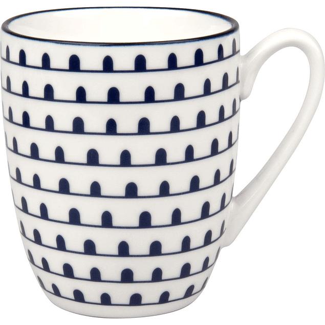 Set de 4 tazas azules en caja de regalo