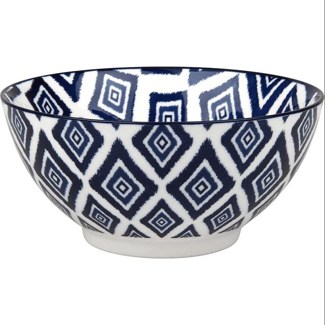 Set de 4 bowls azules en caja de regalo