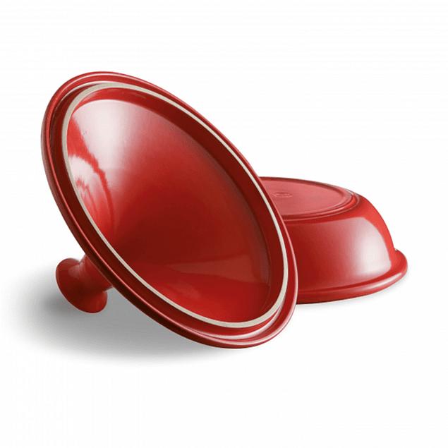 Tagine 32 cm rojo