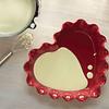 Molde corazón rojo