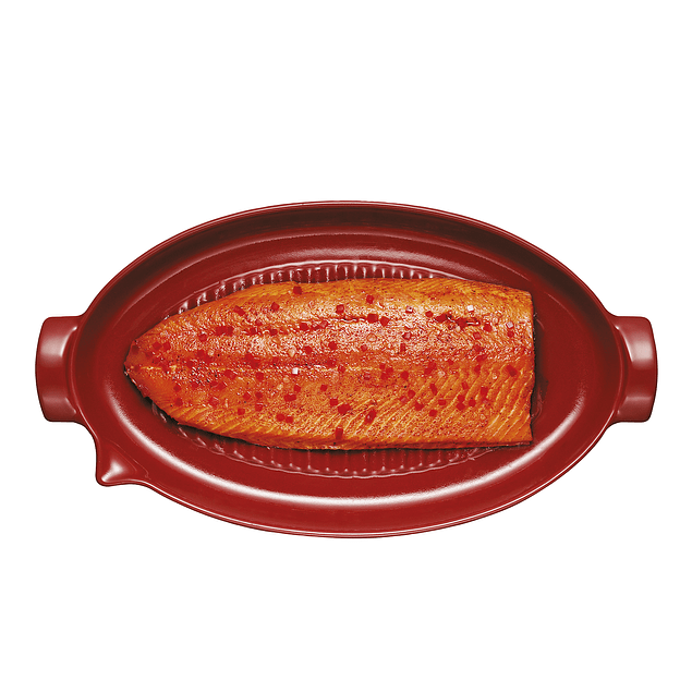 Grill Fish rojo