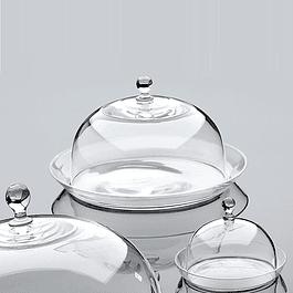 Campana con plato de vidrio 20 cm