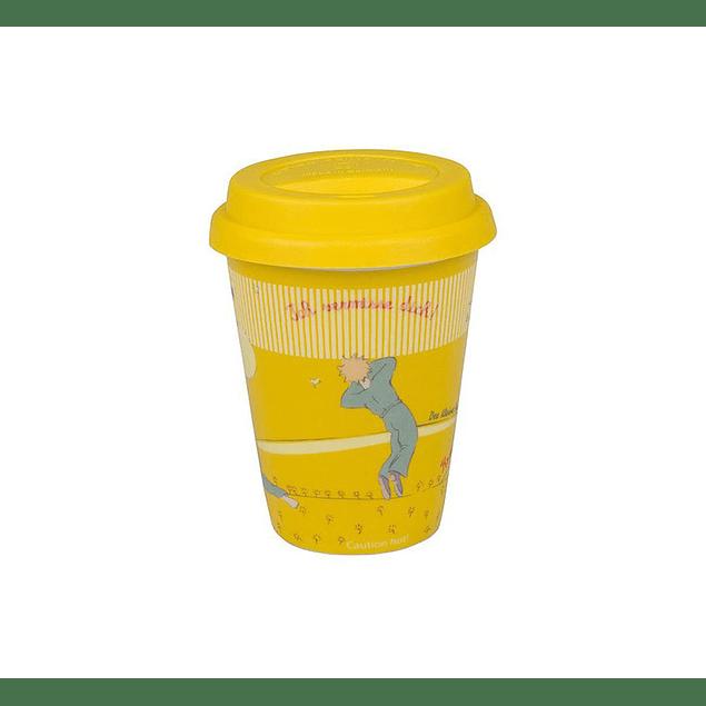 Set 2 tazones Principito - Travel c/tapa de silicona y Mug