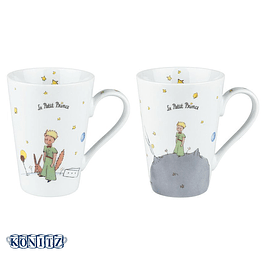 Set 2 tazones Principito Mugs Altos