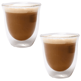 Set 2 vasos doble pared CAPPUCHINO