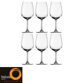 Set de 6 copas de Vino Tinto Weinland Magnum