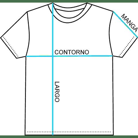 POLERA MANGA CORTA C. LAGUNA REDONDA