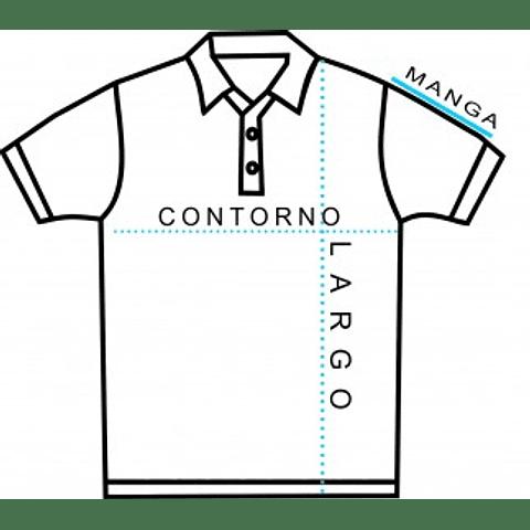 PIQUE DE VARON MANGA CORTA CC. PEDRO DE VALDIVIA