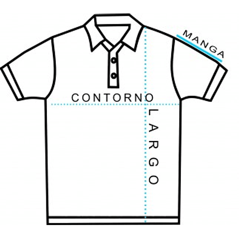 PIQUE DE VARON MANGA CORTA