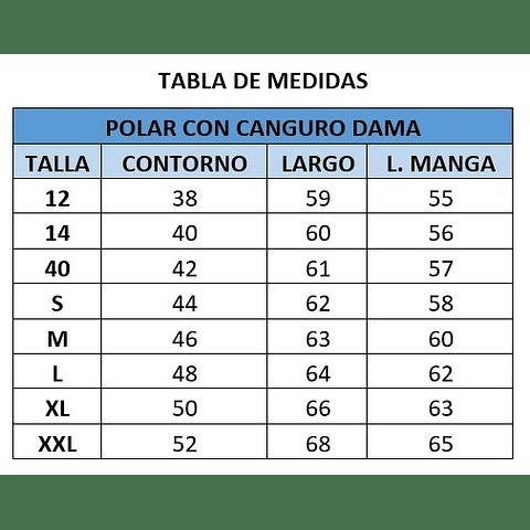 POLAR CANGURO DE DAMA C. LOS ACACIOS